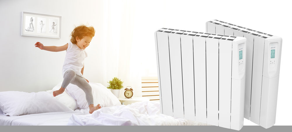 Twin 750w Electric Radiators